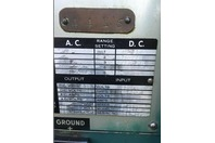 Hobart Vintage Retro Arc Stick Welder, 300A DC, Input: 230/460v 3-PH , RD-304
