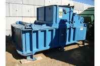 Marathon Gemini 3560, Closed End Horizontal Baler & Conveyor Feeder 460v