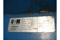C + M Vertical Down Packing Baler, Model: 60HD, 10HP 240v 3PH