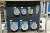 LEX 100kW Portable Power Distribution Unit 350A, 208/120v, 3P,4W, DB350MA-P2WAS3