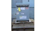 GE 45kVA Transformer Pri: 480v, SEC: 208v/120v, 3PH, 9T83B3873