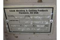 Esab 453cv Mig Welder with Model 35 WF Feeder & L-Tec Cooler 230/460v 3-PH