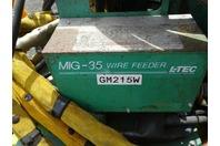 Esab 453cv Mig Welder with L-Tec Model X 35 Feeder 230/460v 3-PH