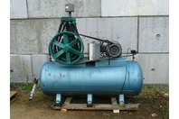 10HP Piston Type Recipicating Air Compressor, Horziontal Tank 230/460v 3-PH