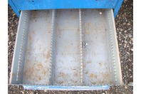 Stanley Vidmar Stationary Full Height Modular Drawer Cabinet , 9-Drawer