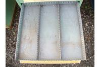 Stanley Vidmar Stationary Full Height Modular Drawer Cabinet , 14-Drawer