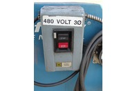 Airflow Systems  Industrial Smoke Fume Collector  460v 3PH, PCH2-BI-PG6