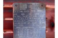 Godwin Durco 40HP 2K3x2 Stainless Centrifugal Pump 350 PSI , 460V, MK3-STD