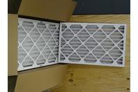 (6) Tri Dim Filter Corporation  Tri-Pleat Filter 16x25x2, ES 40