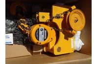 Harrington Navy Trolley Hoist, Low Headroom Chain Fall 5 TON , CF4-1648