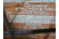 Chromalox   infra-red Electric 6KW Heater  480v, RBC6-4