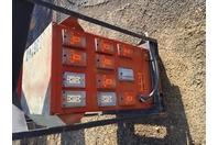 Square D 25kVA Transformer 240/480 x 120/240v 1PH, & Load Center , 25S3H