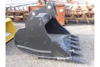 """ES 60"""" Excavator Bucket , 200 Class Cat/Deere/Hitachi  80mm Pins , ESBZX225 60"""