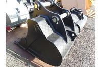 """ES 42"""" Excavator Bucket, 200 Class Cat/Deere/Hitachi  80mm Pins , ESBZX225 42"""