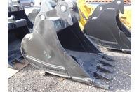 """ES 42"""" Excavator Bucket, 200 Class Cat/Deere/Hitachi  80mm Pins , ZX225 42"""
