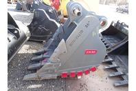 """Emaqu  36"""" Heavy Duty Excavator Bucket, Deere D270 90mm Pins , BKTJD27036HD"""