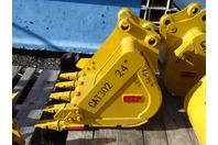 """Teran  24"""" Excavator Bucket 35mm Pins, CAT302"""