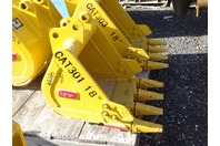 """Teran  18"""" Excavator Bucket  30mm Pins , CAT301"""
