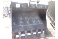 """ES  48"""" Excavator Bucket, 80 Class Cat/Bobcat/Deere/Hitachi  50mm Pins , ESB988E"""