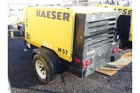 2012 Kaeser M57 Portable Air Compressor, Kubota Diesel