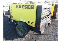 2011 Kaeser M57 Portable Air Compressor, Kubota Diesel