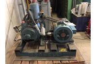 Crowell  Vacuum Pump, 2HP 230/460v , 3-DMV