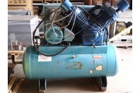 Kellogg American  Air Compressor with 25HP Baldor Electric Motor  , A462TVX