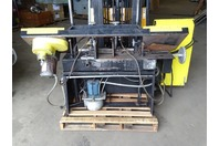 W.F. Wells & Sons, Inc.  Horizontal Bandsaw, Column Type 230/460v, W-9