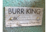 """Burr King  4"""" Belt Grinder, 3HP 208-230/460v , Model 960"""