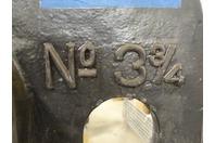 "Greenerd  5 TON Hand Operated Arbor Press  , No. 3 3/4"""