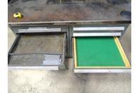 Vidmar Type Work Bench, Tool Cabinet Work Station , 11 Drawer