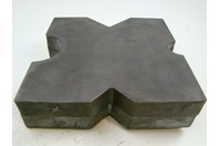 "(PAIR) 12x12 Heavy Duty Arbor Plates, 1.5"" Thick, Hydraulic H-Frame Shop Press,"