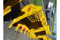 "48"" Excavator Rock Bucket, Komatsu, 60mm Pin,  8""between Ears, CAT307"