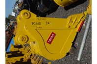 "24"" Excavator Bucket, Komatsu, 70mm Pin,  12 1/2""between Ears, PC160"
