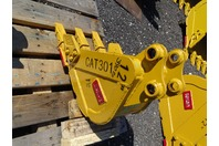 "12"" Mini Excavator Bucket , 30mm Pin,  5""between Ears, CAT301"