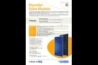 Hyundai 340 watt Monocrystalline Solar Panel HiS-S340TI 38v 72 Cell