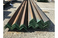 """(40) 3"""" x 3"""" x 1/4"""" Structrual Steel Angle Iron 40 FT. Lengths"""