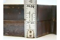 "(PAIR) 7x7 Arbor Plates 1"" Thick, Hydraulic H-Frame Shop Press, V-Cut"