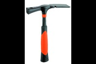 Picard Black Giant Mason / Bricklayer Hammer with Nail Puller, Wide Pattern