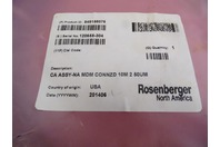 Rosenberger  CA ASSY -NA MDM CONNZD  10M 2 50UM , 120655-304