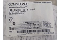 Commscope  Cable  15 Feet, L4A-DMDM-15-P-SGW