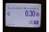 "JMA  Mini DIN Male  1/2"" Annular UXP Connector , UXP-MDM-12"
