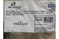 Wireless Solutions  Angle Adaper with insert  , WSAA-USS