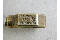 SRC Brass Ground Rod Clamp 1/2- 3/4 , Rebar