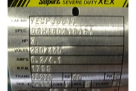 Baldor Reliance  3HP Electirc Motor  230/460 , YEGP3661T