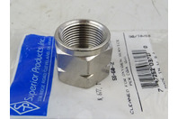 Superios Products Inc. Hex Nut , N-80SS