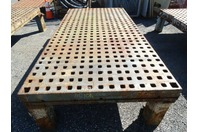 "B-Grade 5 FT. x 10 FT. Acorn Welding Platen Layout Table 5x10, 1-5/8"" Holes"