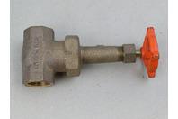 "Stockham  Bronze Gate Valve 1"" 125S 200 CWP , Fig. B-105"
