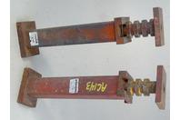 (2) Ingersoll  12,000 LB. Jack Stand, Adjustable , 9100403-13