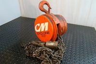 Cyclone 1-1/2 Ton Chain Hoist 446ME